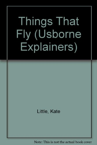 Things That Fly (Usborne Explainers): Little, Kate and