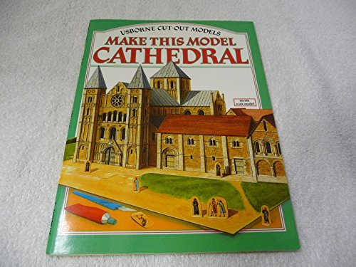 9780746001820: Make This Model: Cathedral (Usborne Cut-Out Models Series)