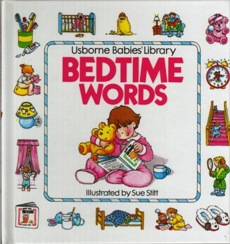 9780746002223: Bedtime Words (Usborne Babies' Library)