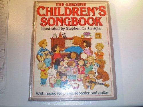 9780746002650: Children's Songbook (Usborne songbooks)
