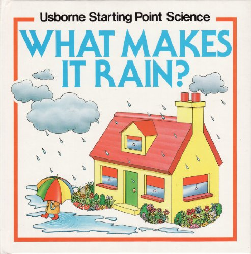 9780746002704: What Makes it Rain? (Usborne Starting Point Science)