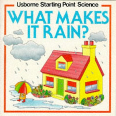 9780746002742: What Makes it Rain? (Usborne Starting Point Science)