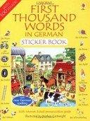 9780746003886: German (Usborne First 1000 Words)