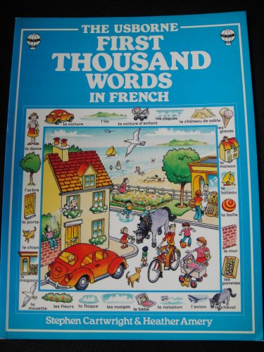 9780746003893: French (Usborne First 1000 Words)