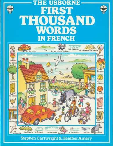 9780746003893: French (First 1000 Words)