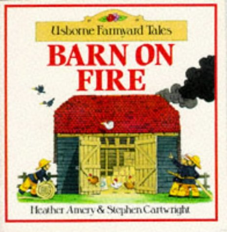 9780746004715: Barn on Fire Sticker Storybook (Farmyard Tales)