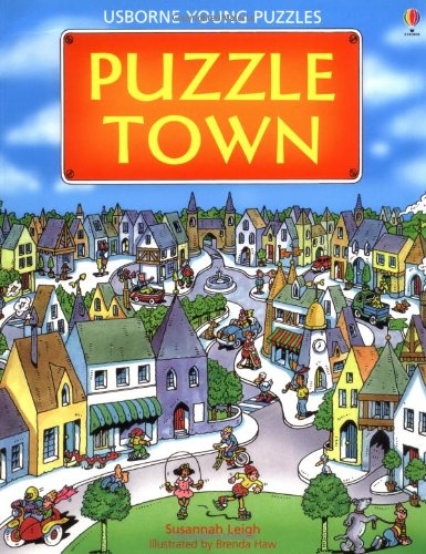 9780746006818: Puzzle Town (Young Puzzles)