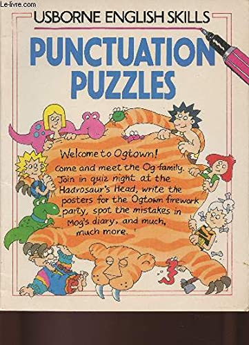 9780746010549: Punctuation Puzzles (Usborne English Skills)