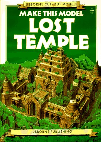 9780746012116: Make This Model Lost Temple (Usborne Cut-Out Models)