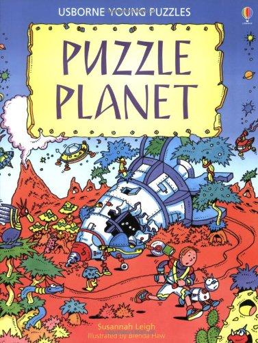 9780746012864: Puzzle Planet (Usborne Young Puzzle Books)