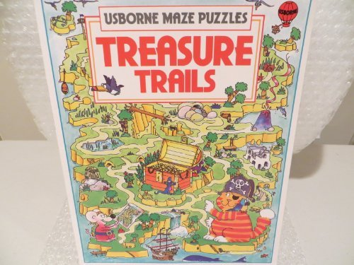 Treasure Trails (Usborne Maze Fun) (0746013213) by Tyler, J.; Blundell, Kim