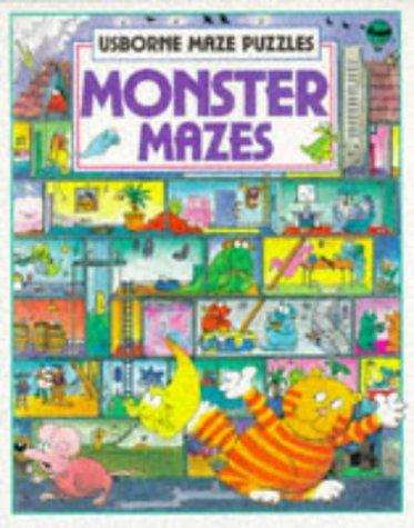 9780746013250: Monster Mazes (Usborne Maze Fun)