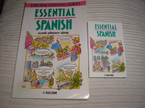9780746014349: Essential Spanish (Usborne Essential Guides)
