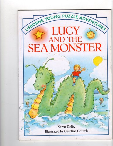 9780746014622: Lucy and the Sea Monster (Usborne Young Puzzle Adventures)