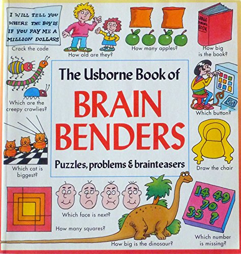 9780746016299: The Usborne Book of Brain Benders (Usborne Brainbenders)