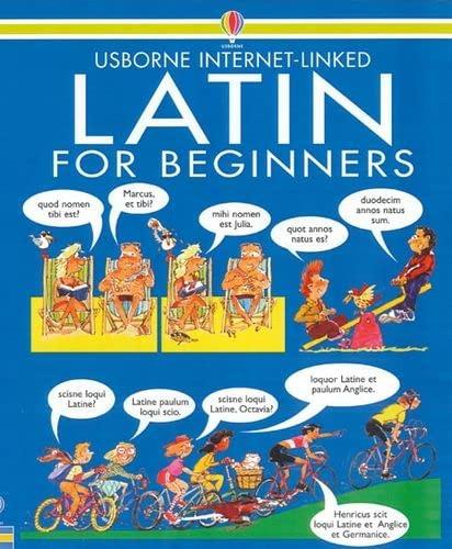 9780746016381: Latin for Beginners: Internet Linked (Usborne Language Guides)