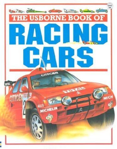 9780746016541: The Usborne Book of Racing Cars (Young Machines Series)