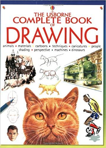 9780746016633: Usborne Complete Book of Drawing