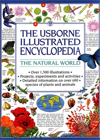9780746016893: The Natural World (The Usborne Illustrated Encyclopedia)