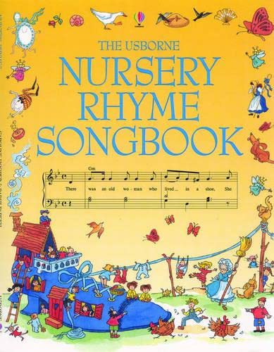 9780746017036: Usborne Nursery Rhyme Songbook