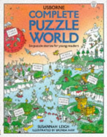 9780746018590: Complete Puzzle World: Puzzle Island/Puzzle Town/Puzzle Farm/Puzzle Castle/Puzzle Planet/Puzzle Mountain (Usborne Young Puzzles)