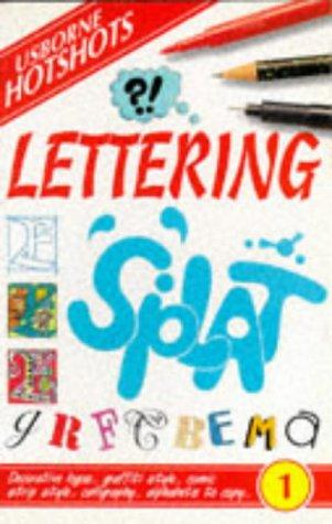 9780746022740: Lettering (Usborne Hotshots)