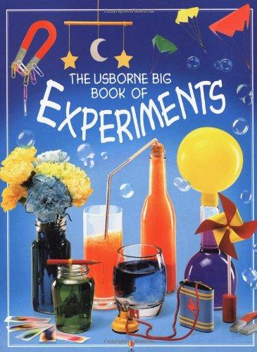 9780746022887: The Usborne Big Book of Experiments