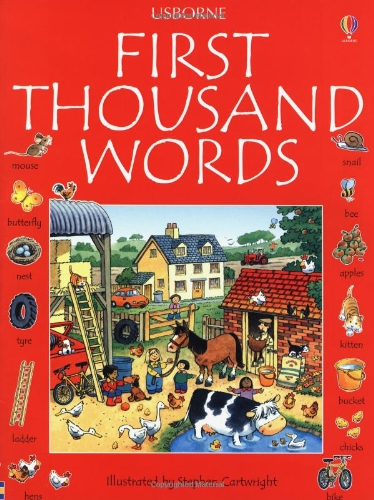 9780746023020: First 1000 words english (Usborne First Thousand Words)