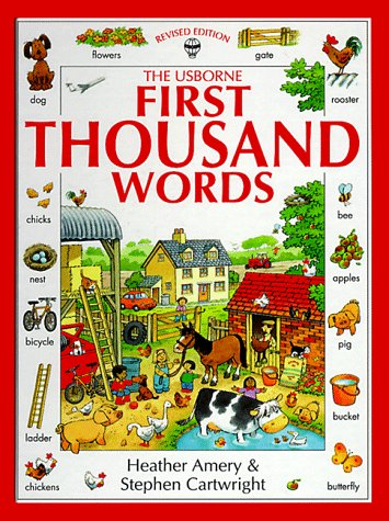 9780746023037: First Thousand Words (Usborne First Thousand Words)