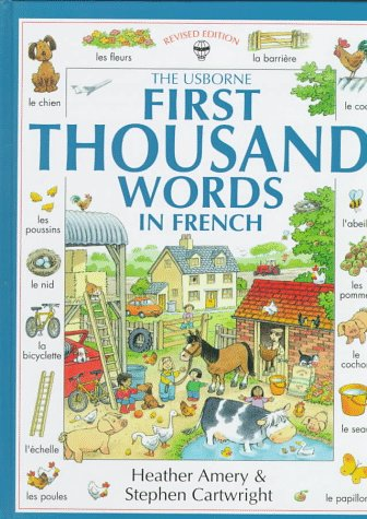 9780746023051: First Thousand Words in French (Usborne First Thousand Words)