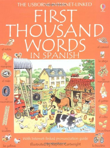 9780746023082: First Thousand Words in Spanish (Usborne First Thousand Words)