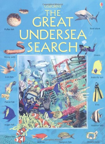 9780746023419: Great Undersea Search (Usborne Great Searches)