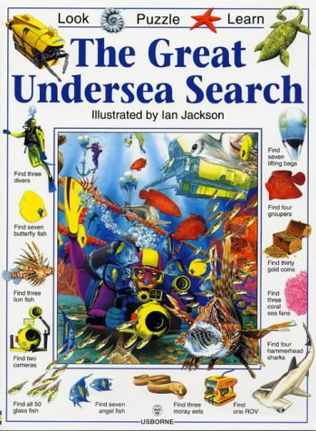 The Great Animal Search Look Puzzle Learn