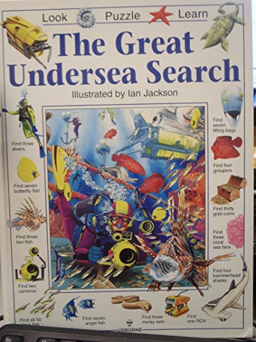 9780746023426: Great Undersea Search (Usborne Great Searches)