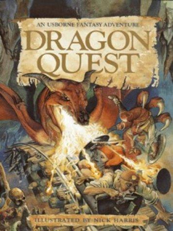 9780746023457: Dragon Quest (Usborne Fantasy Adventure)