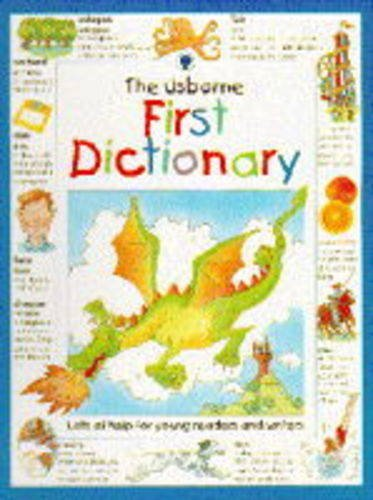 9780746023471: Usborne First Dictionary (Illustrated Dictionaries)