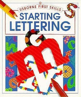 9780746023792: Starting Lettering (Usborne First Skills)