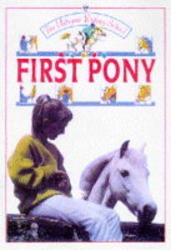 9780746024379: First Pony (Usborne Riding School)