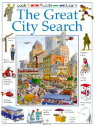 9780746027066: The Great City Search (Usborne Great Searches)