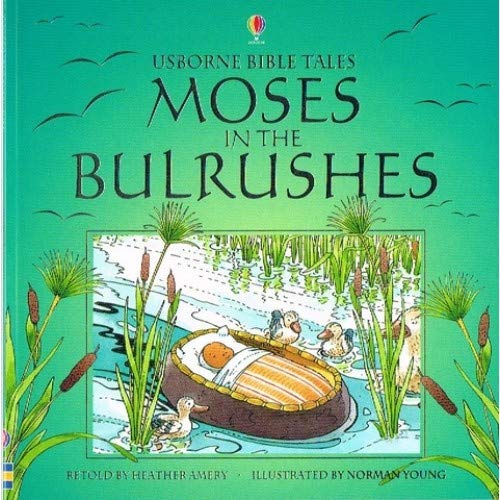 9780746027448: Moses in the Bulrushes (Usborne Bible Tales)