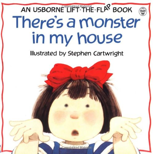 9780746028162: There's a Monster in My House (Usborne Lift-the-Flap-Books)