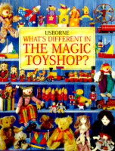 Magic Toyshop: Whats the Difference? (Usborne Picture: Cox, Phil Roxbee