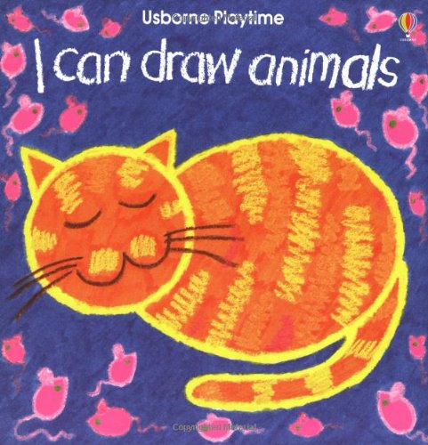 9780746029435: I Can Draw Animals (Usborne Playtime Series)