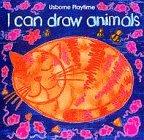 9780746029442: I Can Draw Animals (Usborne Playtime)