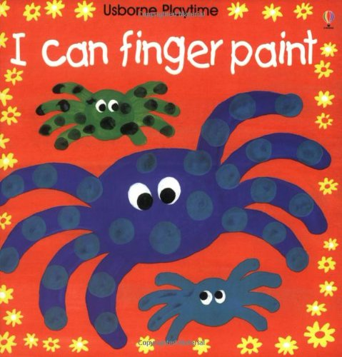 9780746029497: I Can Finger Paint (Playtime Series)
