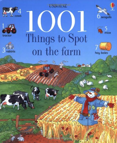 9780746029558: 1001 Things to Spot on the Farm (Usborne 1001 Things to Spot)
