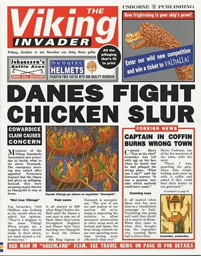 9780746029572: Viking Invader (Newspaper Histories Series)