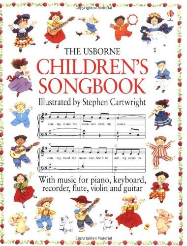 9780746029817: Children's Songbook (Usborne Songbooks)