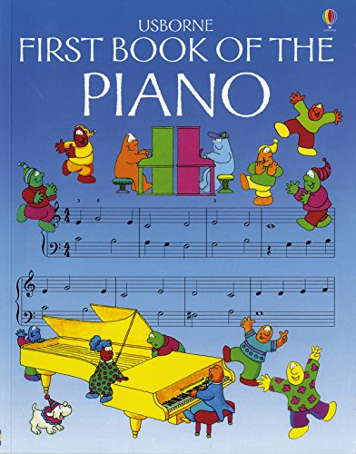 9780746029855: The Usborne First Book of the Piano