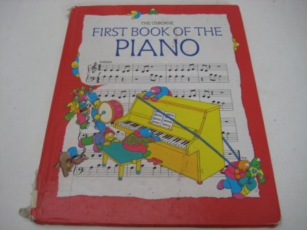 9780746029862: First Book of the Piano (Usborne First Music)